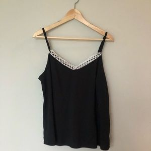 The Limited - black tank top